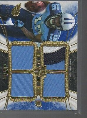 $10 • Buy Justin Hunter 2013 Topps Surpeme Quad Jersey Patch Relic Srqh-jh   /15