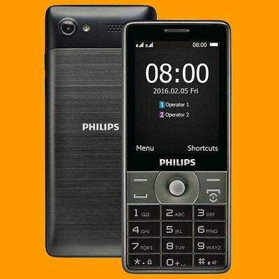 $199.99 • Buy Philips Xenium E570 2MP FM A2DP 2.8  170 Days Dual SIM Standby GSM 2G Cell Phone