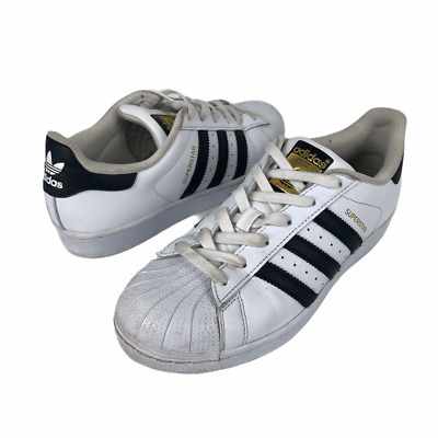 $ CDN30.60 • Buy Adidas SUPERSTAR Ortholite Black White Shell Toe Leather Sneakers Mens Size 6 US