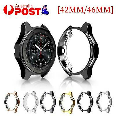 AU10.30 • Buy For Samsung Galaxy Watch Case Screen Protector Soft Silicone Cover --42/46mm