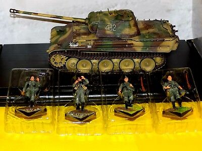 Sd.Kfz.171 Panther G GERMAN ARMY FRANCE 1944 W/4 FIGURES DRAGON ARMOR 61034 1:35 • 135.73£