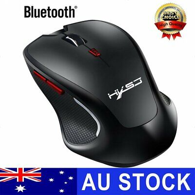 AU25.49 • Buy T21 Bluetooth Wireless Mouse Adjustable DPI 2400 Optical For PC Laptop Mac New