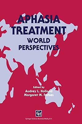 Aphasia Treatment: World Perspectives, Forbes, M 9780412572104 Free Shipping,, • 72.41£
