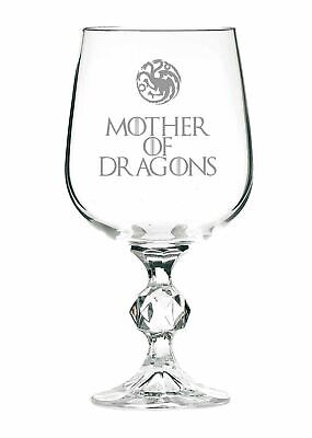 £9.99 • Buy Mother Of Dragons Game Of Thrones Inspired 11oz Wine Goblet