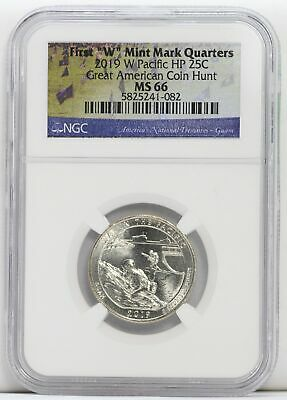 $ CDN53.16 • Buy 2019 W Pacific HP MS 66 25C First  W  Quarters NGC Certified Great Coin LF853
