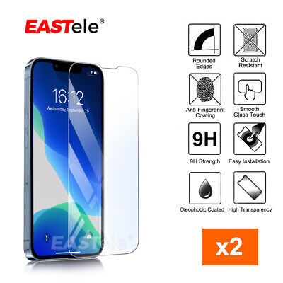 AU6.99 • Buy 2x IPhone 12 11 Pro Max XS Max XR SE Tempered Glass Screen Protector For Apple