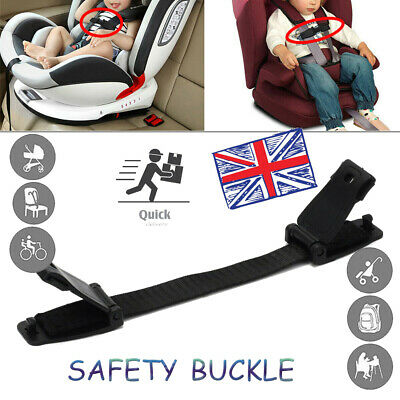 Kid Safety Seat Strap Chest Clip Buggy Harness Lock Buckle Highchair Anti Escape • 5.35£