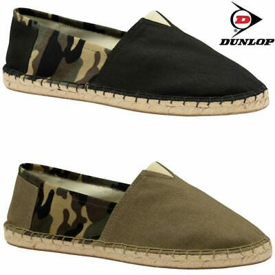 £9.95 • Buy Mens Slip On Casual Canvas Espadrilles Summer Plimsolls Trainers Pumps Shoe Size