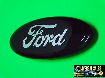 $29 • Buy Solid Black Ford F150 Oval Emblem Badge Grille Or Tailgate  09-14 New *no Camera