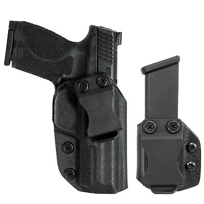 $39.99 • Buy Smith And Wesson MP9, MP40 4.25'' IWB Kydex Holster And Magazine Pouch Combo