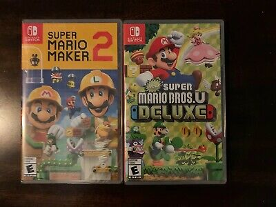 $110 • Buy 2 Nintendo Switch Games Lot