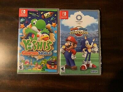 $99.99 • Buy 2 Nintendo Switch Games Lot
