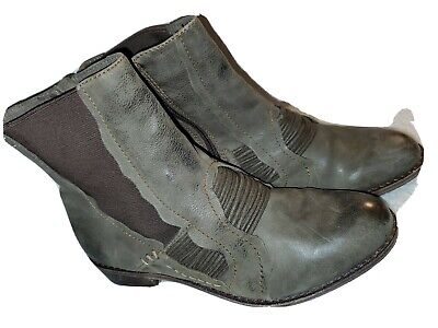 $25 • Buy Anthropologie Leather Boots Everybody By BZ Moda US 5.5 Or 36