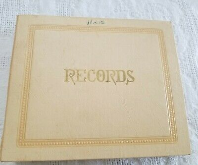$10.99 • Buy Vintage 45 LPM Record Holder With 13 Records