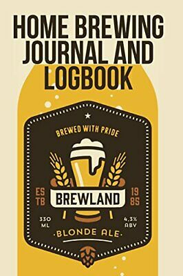 £8.60 • Buy Home Brewing Journal And Logbook. Blokehead, The 9781320586269 Free Shipping.#