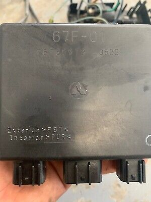 AU500 • Buy 67F-85540-00-00 F8T35572 YAMAHA OUTBOARD Motor Part 80 90 100HP 4 STROKE CDI ECU