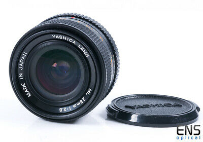 Yashica 28mm F/2.8 ML Prime Lens - Contax Fit A1278342 JAPAN • 70£