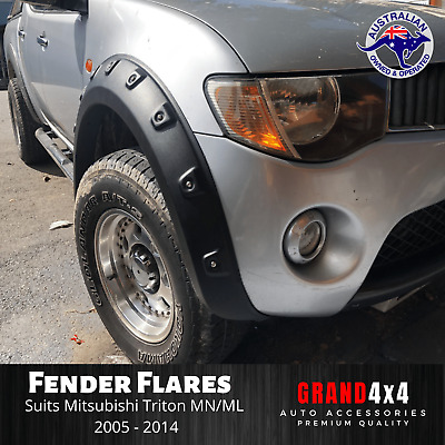 AU279 • Buy Fender Flares Guard Cover Pocket Style For Mitsubishi Triton MN ML 2005 - 2014