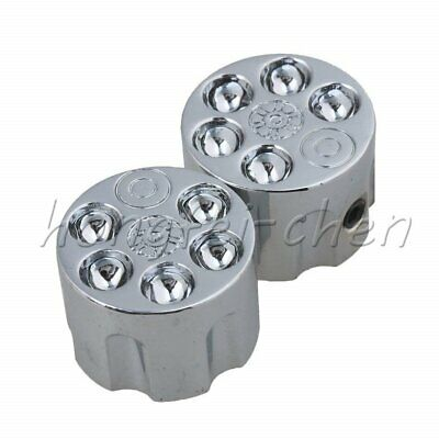 $ CDN24.65 • Buy 4Pcs Silver Tone Volume Speed Control Dome Knobs For Guitar Bass Chrome