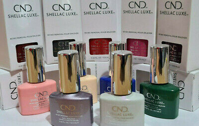 £7.80 • Buy CND Shellac Luxe Gel Nail Polish- Choose Your Shade NEW BOXED