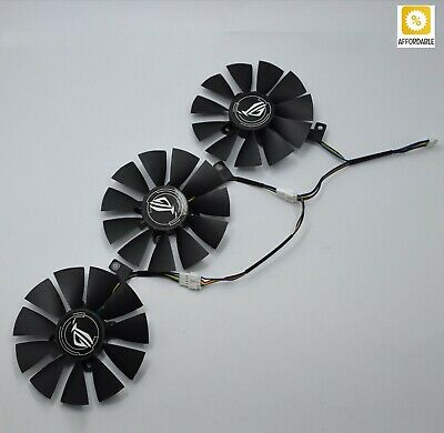 $ CDN46.84 • Buy Cooler Fan For ASUS Strix GTX 1060 OC 1070 1080 GTX 1080Ti RX 480 T129215SU 87MM