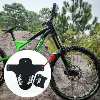 MTB Mudguard Mountain Bike Mud Guard Bicycle Front Tyre Splash  • 3.93£