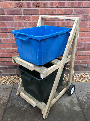2 Box Recycling Trolley Store • 99.99£