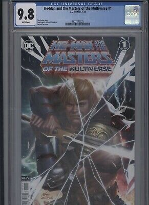 $49.99 • Buy He-Man And The Masters Of The Multiverse #1 CGC 9.8 - InHyuk Lee MAIN COVER