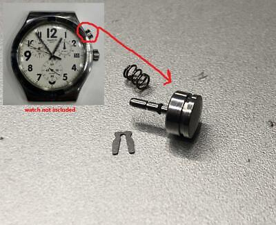 $ CDN13.56 • Buy Chronograph Push Pusher Button Crown Fits Swatch Irony Chrono Watch Spare Parts