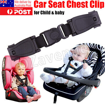 AU7.35 • Buy Baby Car Safety Seat Strap Clip Harness Chest Belt Child Buggy Buckle Lock AU