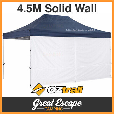 AU64.90 • Buy OZtrail Gazebo Solid Wall Kit 4.5 With Centre Zip
