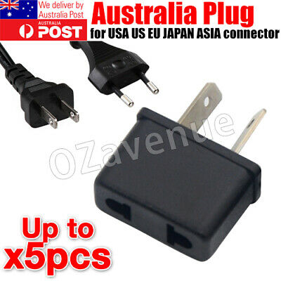 AU5.39 • Buy Usa Us Eu Adapter Plug To Au Aus Australia Travel Power Plug Convertor
