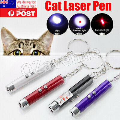 AU4.35 • Buy Cat Toys Laser Pointer Cat Laser Toy Pen Catch The LED Light Interactive 4 Color