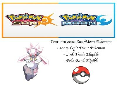 AU2.55 • Buy Pokemon Ultra Sun And Moon OCT14 GAME Diancie Event Pokemon