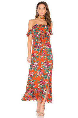 $60 • Buy Auguste The Label Stevie Off The Shoulder Maxi Dress - US 4