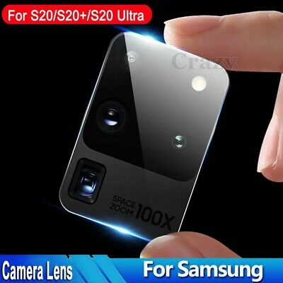 AU5.85 • Buy For Samsung Galaxy S21 S20 FE Plus Ultra 5G Camera Lens Tempered Glass Protector