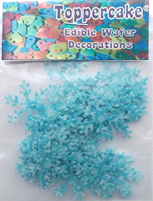£5.43 • Buy Toppercake Edible Wafer Paper Frozen Snowflake Cake Decorations