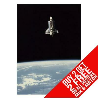 Space Shuttle Bb1 Challenger Poster Art Print A4 A3 Size Buy 2 Get Any 2 Free • 8.99£