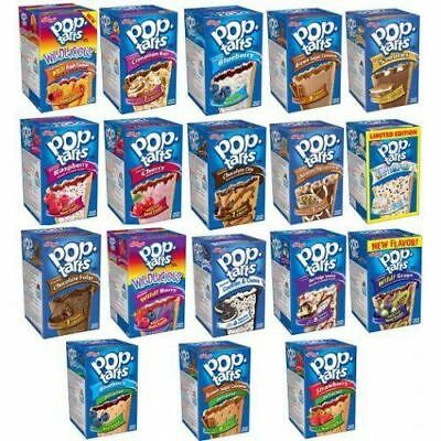 Kelloggs Pop Tarts  - All Flavours - Imported Directly From USA  • 8.50£