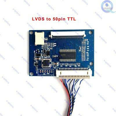 $11.95 • Buy LVDS Cable To 50 Pin TTL Converter Board Cable DRGB-50P1C8B-105A For EJ080NA-05A