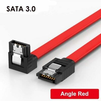 AU4.80 • Buy SATA 3.0 Data Cable 6Gbps Extender With Straight/  Angle Lead Clip For HDD SSD