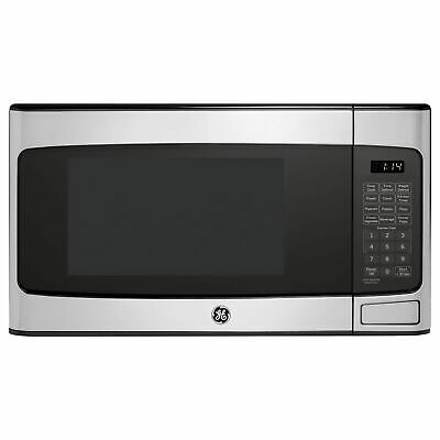 $136.25 • Buy GE 1.1 Cu Ft Countertop Stainless Steel Microwave Oven (Refurbished) (Open Box)