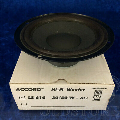 £12.85 • Buy ►ACCORD LS 616◄ALTOPARLANTE WOOFER SPEAKER SYSTEM NUOVO 30-50W 8ohm 16cm