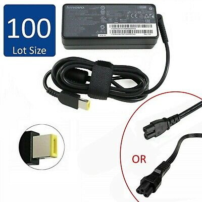 $ CDN2029.80 • Buy Lot Of 100 Genuine Lenovo ThinkPad Laptop AC Power Adapter 65W 20V 3.25A SQUARE