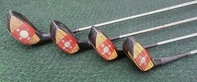 $59.99 • Buy Vintage MacGregor Tommy Armour AT2W Persimmon 1, 3, 4 & 5 Woods