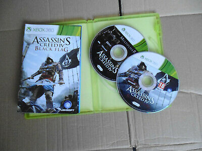 Assassins Creed 4 Black Flag ~ XBox 360 In Very Good Condition • 1.50£