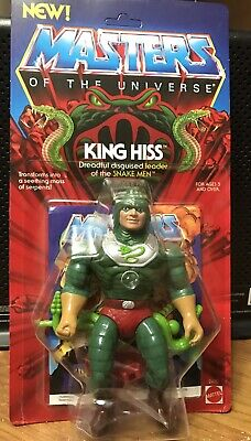 $300 • Buy Vintage Masters Of The Universe King Hiss Moc Carded New