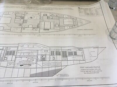 AU1750 • Buy Yacht CNC And Plans 54' Voyager Bruce Roberts