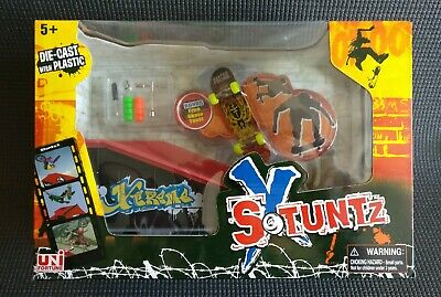 Stuntz X - Build Your Own Skate Park - FingerBoard + Tool + Ramp B - NEW • 19.99£