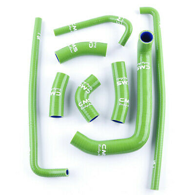 $59.99 • Buy For 1996-2003 Kawasaki Ninja ZX7R ZX750P Green Silicone Radiator Coolant Hoses